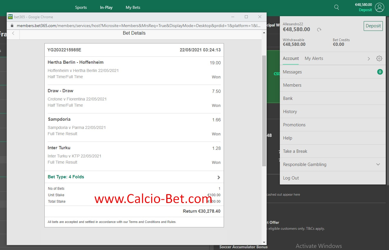 Good Fixed Matches
