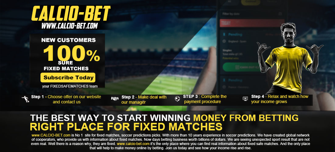 FIXED MATCHES 100% SAFE AND SURE